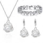 Комплект Чарина лукс кристал